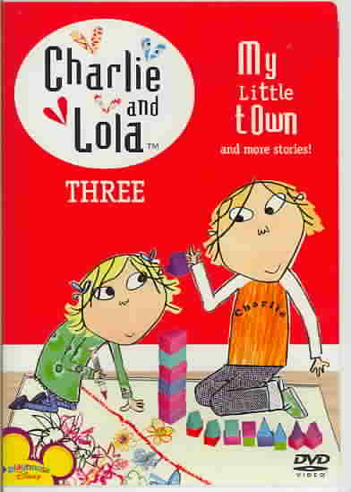 CHARLIE & LOLA:V3 MY LITTLE TOWN BY CHARLIE & LOLA (DVD)